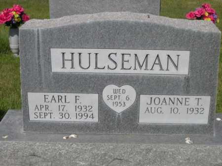 HULSEMAN, EARL F. - Dawes County, Nebraska | EARL F. HULSEMAN - Nebraska Gravestone Photos