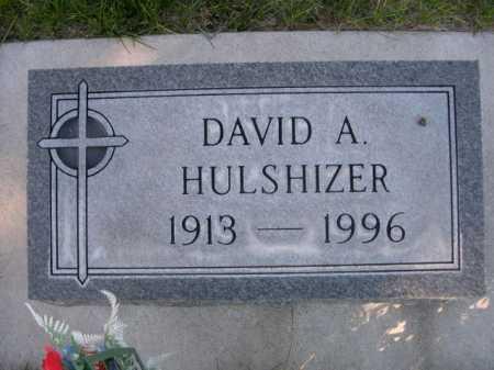 HULSHIZER, DAVID - Dawes County, Nebraska | DAVID HULSHIZER - Nebraska Gravestone Photos