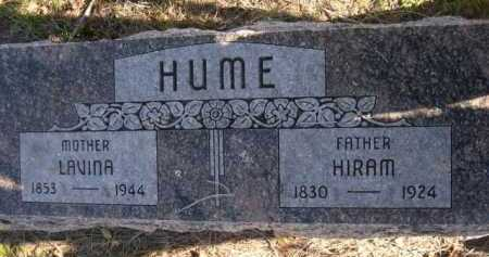 HUME, HIRAM - Dawes County, Nebraska | HIRAM HUME - Nebraska Gravestone Photos
