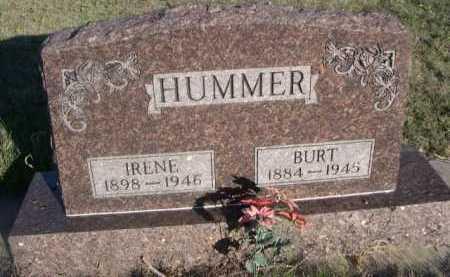 HUMMER, BURT - Dawes County, Nebraska | BURT HUMMER - Nebraska Gravestone Photos