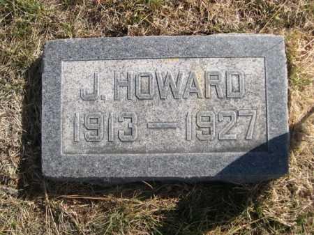 HUMPHREYS, J. HOWARD - Dawes County, Nebraska | J. HOWARD HUMPHREYS - Nebraska Gravestone Photos