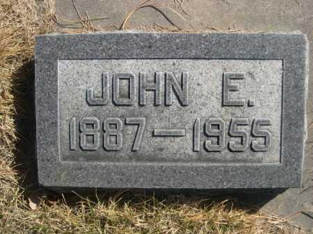 HUMPHREYS, JOHN E. - Dawes County, Nebraska   JOHN E. HUMPHREYS - Nebraska Gravestone Photos