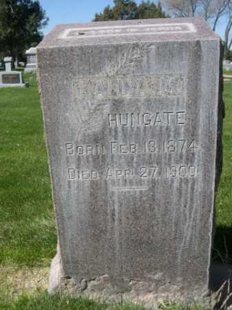 HUNGATE, LAURA - Dawes County, Nebraska | LAURA HUNGATE - Nebraska Gravestone Photos