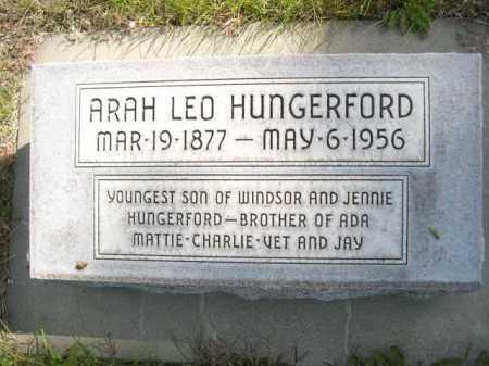HUNGERFORD, ARAH LEO - Dawes County, Nebraska   ARAH LEO HUNGERFORD - Nebraska Gravestone Photos