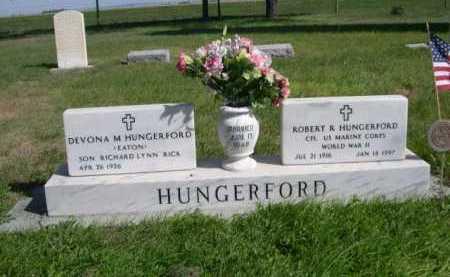 HUNGERFORD, DEVONA M. - Dawes County, Nebraska | DEVONA M. HUNGERFORD - Nebraska Gravestone Photos