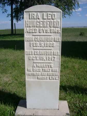 HUNGERFORD, IRA LEO - Dawes County, Nebraska | IRA LEO HUNGERFORD - Nebraska Gravestone Photos