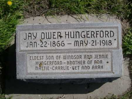 HUNGERFORD, JAY OWEN - Dawes County, Nebraska | JAY OWEN HUNGERFORD - Nebraska Gravestone Photos