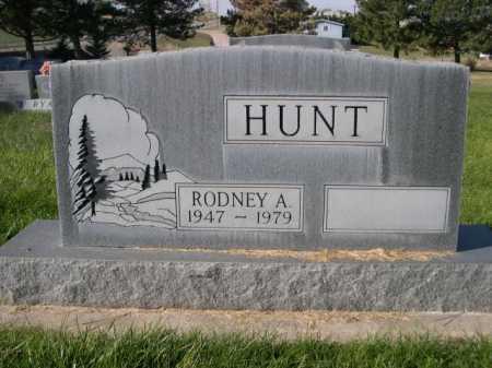 HUNT, RODNEY A. - Dawes County, Nebraska | RODNEY A. HUNT - Nebraska Gravestone Photos