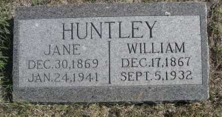 HUNTLEY, JANE - Dawes County, Nebraska | JANE HUNTLEY - Nebraska Gravestone Photos