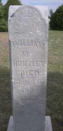 HUNTLEY, WILLIAM M. - Dawes County, Nebraska | WILLIAM M. HUNTLEY - Nebraska Gravestone Photos