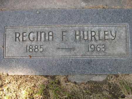 HURLEY, REGINA - Dawes County, Nebraska | REGINA HURLEY - Nebraska Gravestone Photos