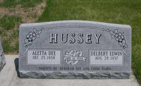 HUSSEY, DELBERT EDWIN - Dawes County, Nebraska | DELBERT EDWIN HUSSEY - Nebraska Gravestone Photos