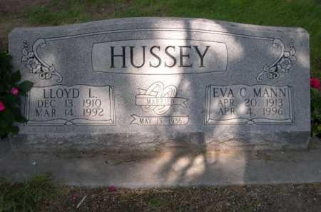 MANN HUSSEY, EVA C. - Dawes County, Nebraska | EVA C. MANN HUSSEY - Nebraska Gravestone Photos