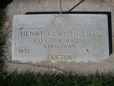 HUTSON, HENRY CLAY - Dawes County, Nebraska | HENRY CLAY HUTSON - Nebraska Gravestone Photos