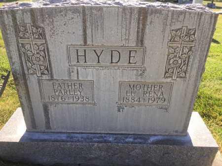 HYDE, PARLEY - Dawes County, Nebraska | PARLEY HYDE - Nebraska Gravestone Photos