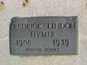 HYMER, REDRICK LINDON - Dawes County, Nebraska | REDRICK LINDON HYMER - Nebraska Gravestone Photos