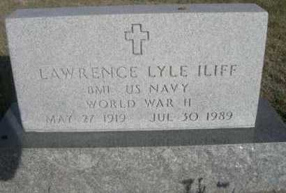 ILIFF, LAWRENCE LYLE - Dawes County, Nebraska | LAWRENCE LYLE ILIFF - Nebraska Gravestone Photos