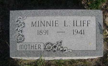 ILIFF, MINNIE L. - Dawes County, Nebraska | MINNIE L. ILIFF - Nebraska Gravestone Photos