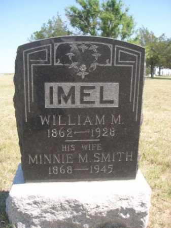 IMEL, WILLIAM M. - Dawes County, Nebraska | WILLIAM M. IMEL - Nebraska Gravestone Photos