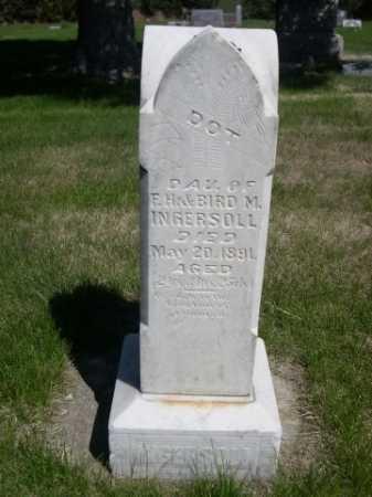 INGERSOLL, DOT - Dawes County, Nebraska   DOT INGERSOLL - Nebraska Gravestone Photos