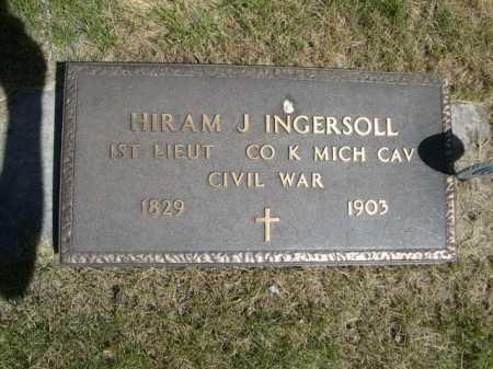 INGERSOLL, HIRAM J. - Dawes County, Nebraska | HIRAM J. INGERSOLL - Nebraska Gravestone Photos
