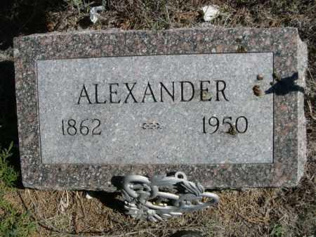 INMAN, ALEXANDER - Dawes County, Nebraska   ALEXANDER INMAN - Nebraska Gravestone Photos