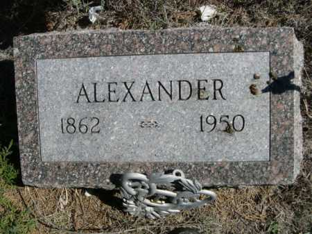 INMAN, ALEXANDER - Dawes County, Nebraska | ALEXANDER INMAN - Nebraska Gravestone Photos