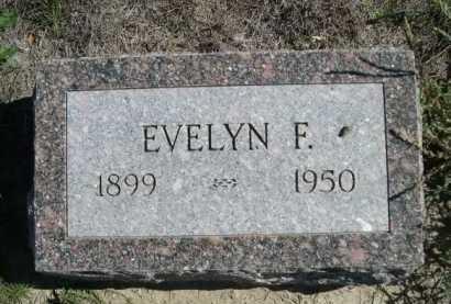 INMAN, EVELYN F. - Dawes County, Nebraska | EVELYN F. INMAN - Nebraska Gravestone Photos
