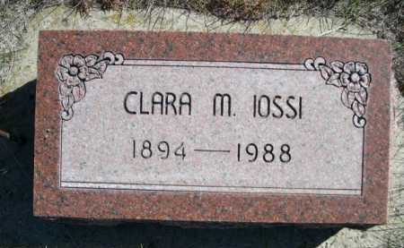 IOSSI, CLARA M. - Dawes County, Nebraska   CLARA M. IOSSI - Nebraska Gravestone Photos