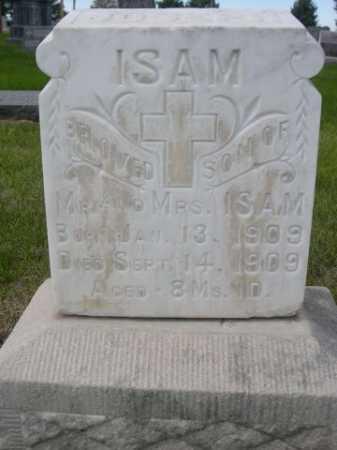 ISAM, JOSEPH - Dawes County, Nebraska   JOSEPH ISAM - Nebraska Gravestone Photos