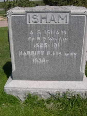 ISHAM, HARRIET F. - Dawes County, Nebraska | HARRIET F. ISHAM - Nebraska Gravestone Photos