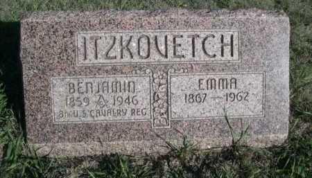 ITZKOVETCH, EMMA - Dawes County, Nebraska   EMMA ITZKOVETCH - Nebraska Gravestone Photos