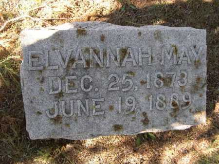 JACKSON, ELVANNAH MAY - Dawes County, Nebraska | ELVANNAH MAY JACKSON - Nebraska Gravestone Photos