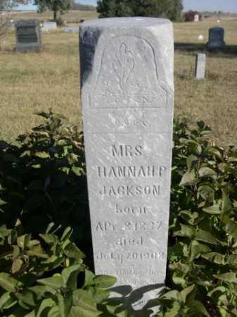 JACKSON, HANNAH P. - Dawes County, Nebraska | HANNAH P. JACKSON - Nebraska Gravestone Photos