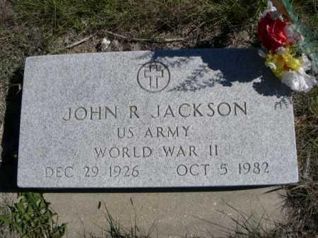 JACKSON, JOHN R. - Dawes County, Nebraska | JOHN R. JACKSON - Nebraska Gravestone Photos