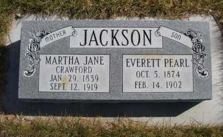 JACKSON, MARTHA JANE (MOTHER) - Dawes County, Nebraska | MARTHA JANE (MOTHER) JACKSON - Nebraska Gravestone Photos