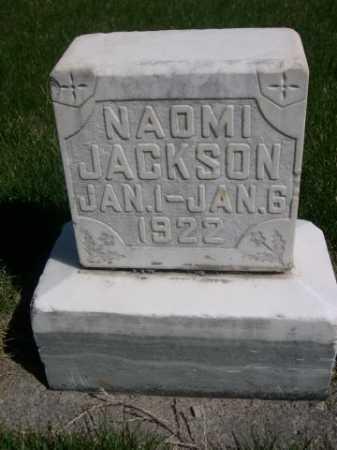 JACKSON, NAOMI - Dawes County, Nebraska | NAOMI JACKSON - Nebraska Gravestone Photos