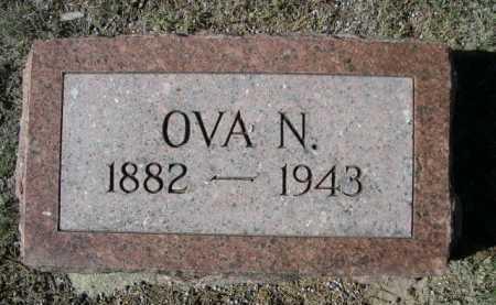 JACKSON, OVA N. - Dawes County, Nebraska | OVA N. JACKSON - Nebraska Gravestone Photos