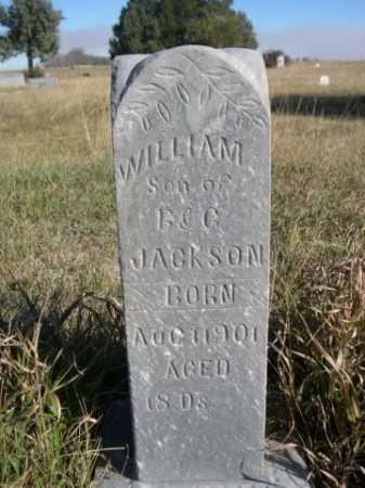 JACKSON, WILLIAM - Dawes County, Nebraska | WILLIAM JACKSON - Nebraska Gravestone Photos