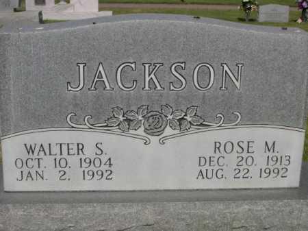 JACKSON, WALTER S. - Dawes County, Nebraska | WALTER S. JACKSON - Nebraska Gravestone Photos