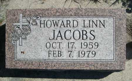 JACOBS, HOWARD LINN - Dawes County, Nebraska | HOWARD LINN JACOBS - Nebraska Gravestone Photos