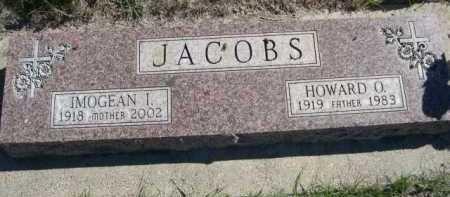 JACOBS, HOWARD O. - Dawes County, Nebraska | HOWARD O. JACOBS - Nebraska Gravestone Photos