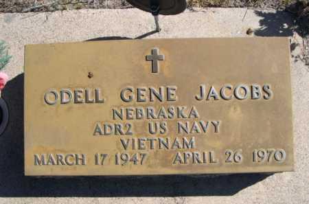 JACOBS, ODELL GENE - Dawes County, Nebraska | ODELL GENE JACOBS - Nebraska Gravestone Photos