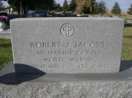 JACOBS, ROBERT J. - Dawes County, Nebraska | ROBERT J. JACOBS - Nebraska Gravestone Photos
