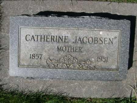 JACOBSEN, CATHERINE - Dawes County, Nebraska | CATHERINE JACOBSEN - Nebraska Gravestone Photos