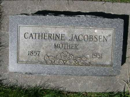 JACOBSEN, CATHERINE - Dawes County, Nebraska | CATHERINE JACOBSEN - Nebraska Gravestone Photos