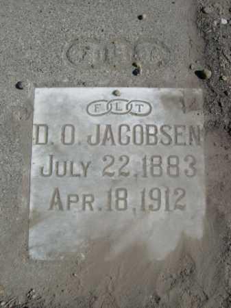 JACOBSEN, D. O. - Dawes County, Nebraska | D. O. JACOBSEN - Nebraska Gravestone Photos