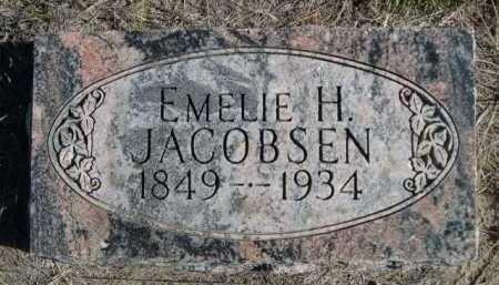 JACOBSEN, EMELIE H. - Dawes County, Nebraska | EMELIE H. JACOBSEN - Nebraska Gravestone Photos
