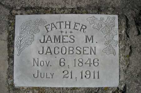 JACOBSEN, JAMES M. - Dawes County, Nebraska | JAMES M. JACOBSEN - Nebraska Gravestone Photos