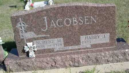 JACOBSEN, HARRY I. - Dawes County, Nebraska | HARRY I. JACOBSEN - Nebraska Gravestone Photos